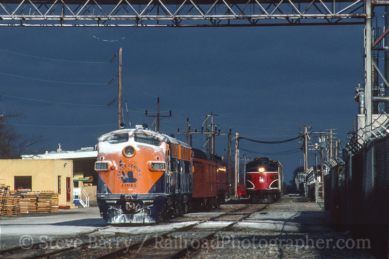 Photo 4088<br /> Southern Railroad of New Jersey; Salem, New Jersey<br /> February 1998
