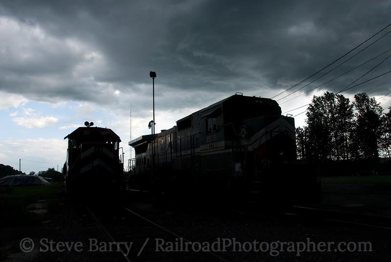 Photo 1512<br /> Washington County (Vermont Rail System); Newport, Vermont<br /> June 14, 2009