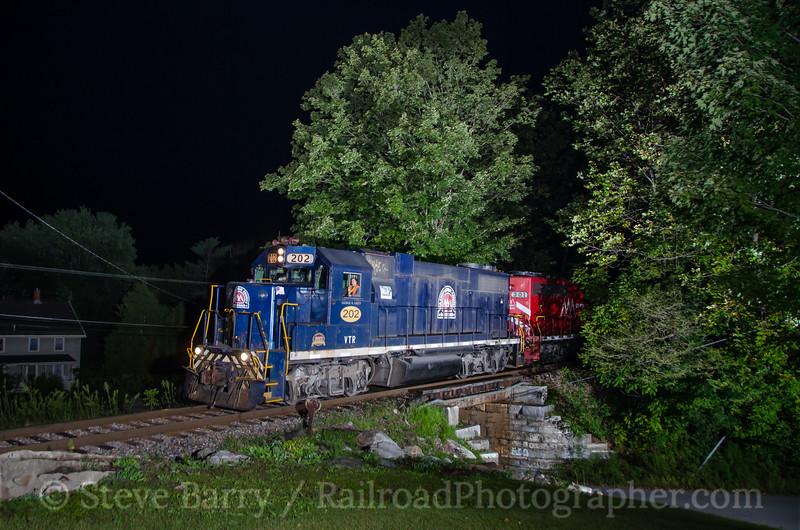 Photo 3494<br /> Vermont Rail System; Center Rutland, Vermont<br /> September 14, 2015