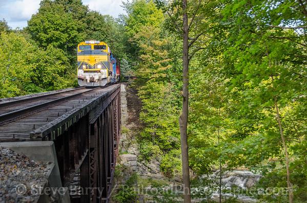 Photo 3928 Vermont Rail System; North Hoosick, New York September 9, 2016