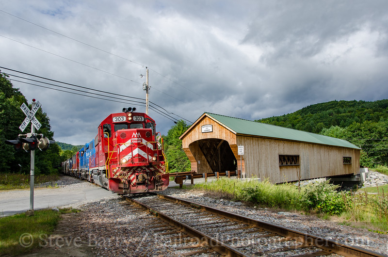 Photo 3491 Vermont Rail System; Bartonsville, Vermont September 14, 2015