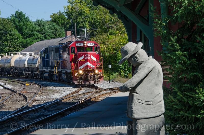 Photo 3496<br /> Vermont Rail System; North Bennington, Vermont<br /> September 15, 2015