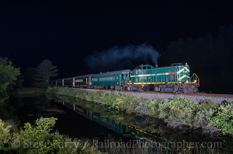 Photo 3486<br /> Vermont Rail System; Norwich, Vermont<br /> September 12, 2015