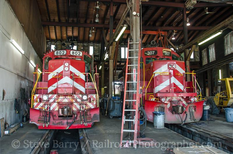 Photo 3432<br /> Vermont Rail System; Burlington, Vermont<br /> June 18, 2015