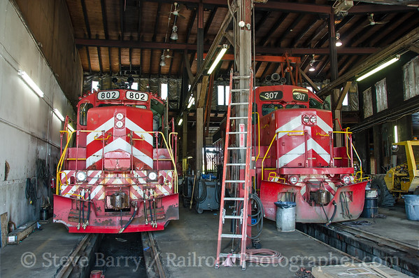 Photo 3432 Vermont Rail System; Burlington, Vermont June 18, 2015