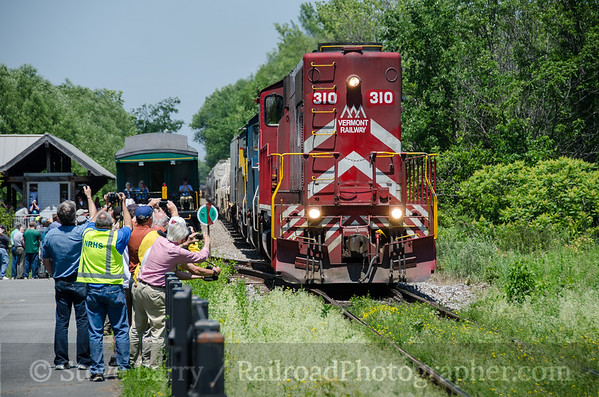 Photo 3431 Vermont Rail System; Charlotte, Vermont June 18, 2015
