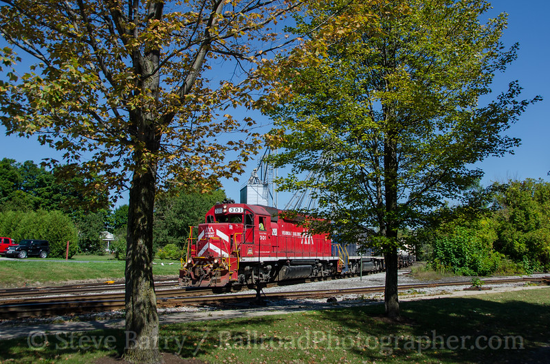 Photo 3497<br /> Vermont Rail System; North Bennington, Vermont<br /> September 15, 2015