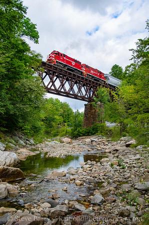 Photo 3927 Vermont Rail System; Cuttingsville, Vermont September 9, 2016