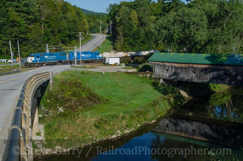 Photo 3495<br /> Vermont Rail System; Florence, Vermont<br /> September 15, 2015
