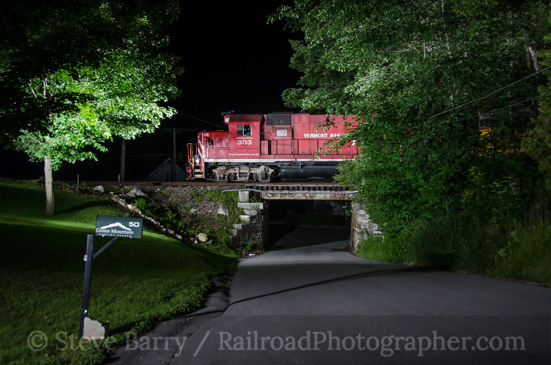 Photo 3430<br /> Vermont Rail System; Center Rutland, Vermont<br /> June 15, 2015