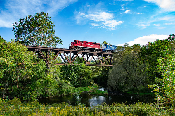 Photo 3929 Vermont Rail System; Walloomsac, New York September 9, 2016
