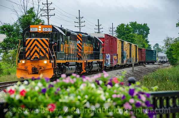 Photo 3915 Wheeling & Lake Erie; Glenwillow, Ohio August 15, 2016
