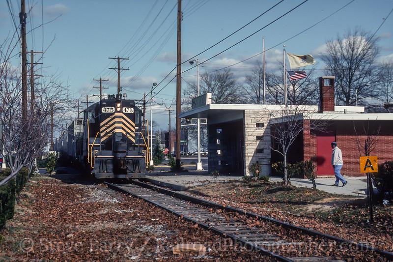 Winchester & Western; Vineland NJ; 12/24/92