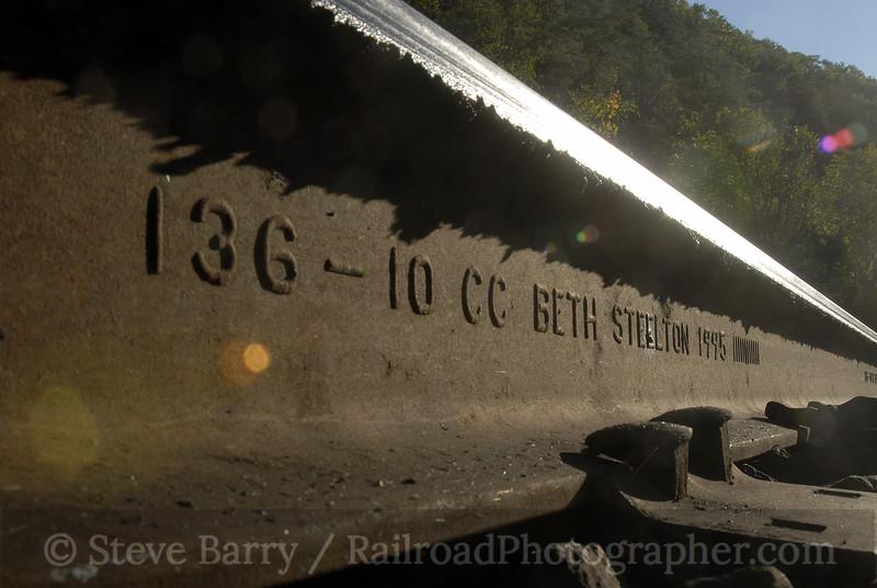 Photo 1014<br /> CSX Transportation; Paw Paw, West Virginia<br /> October 14, 2007