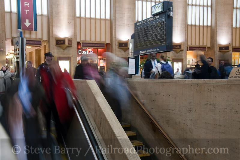 Photo 1805<br /> Amtrak; 30th Street Station, Philadelphia, Pennsylvania<br /> March 2, 2010