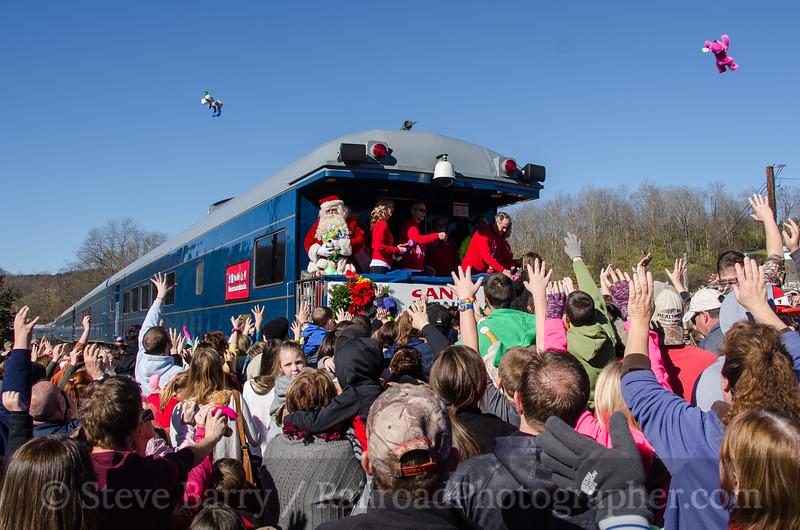 Photo 3604<br /> CSX Transportation; St. Paul, Virginia<br /> November 21, 2015
