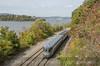 Photo 2817<br /> Amtrak; Breakneck Ridge, Cold Spring, New York<br /> October 19, 2013