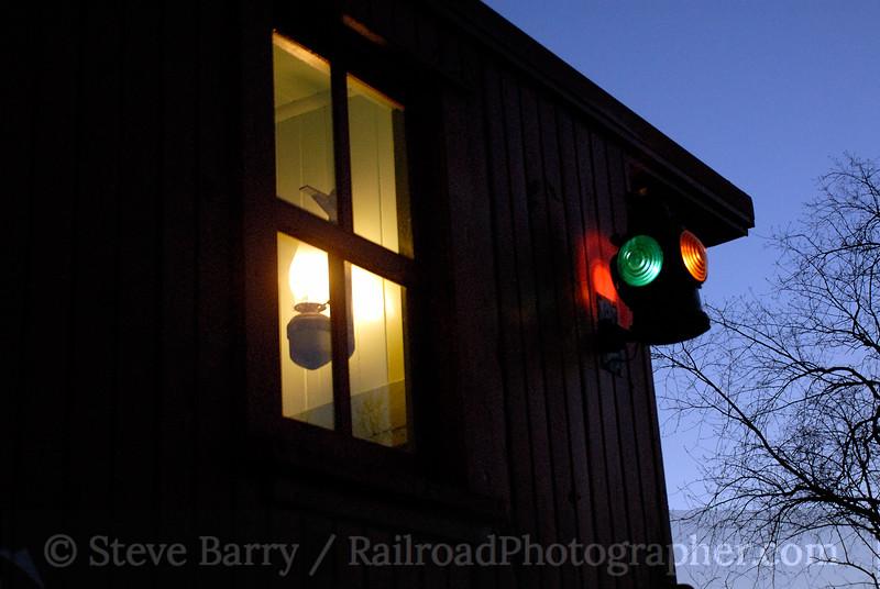 Photo 0938<br /> Huckleberry Railroad; Crossroads Village, Flint, Michigan<br /> April 20, 2007