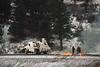 Photo 1999<br /> Union Pacific; Coal Creek Canyon, Blue Mountain, Colorado<br /> December 1998