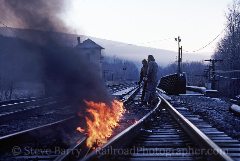 Photo 1561<br /> CSX Transportation; Hyndman, Pennsylvania<br /> december 1988