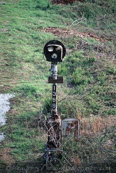 Photo 1831<br /> Union Pacific; Little Rock, Arkansas<br /> March 26, 1993