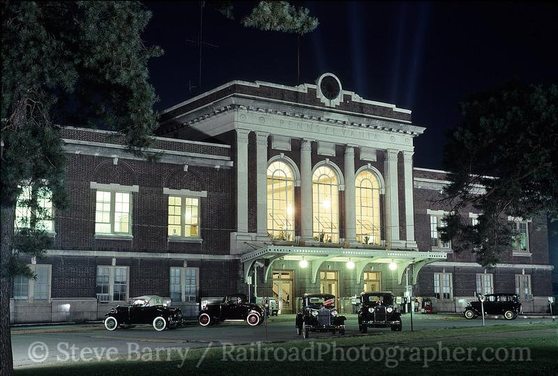 Photo 1444<br /> Amtrak (Pennsylvania Railroad); Lancaster, Pennsylvania