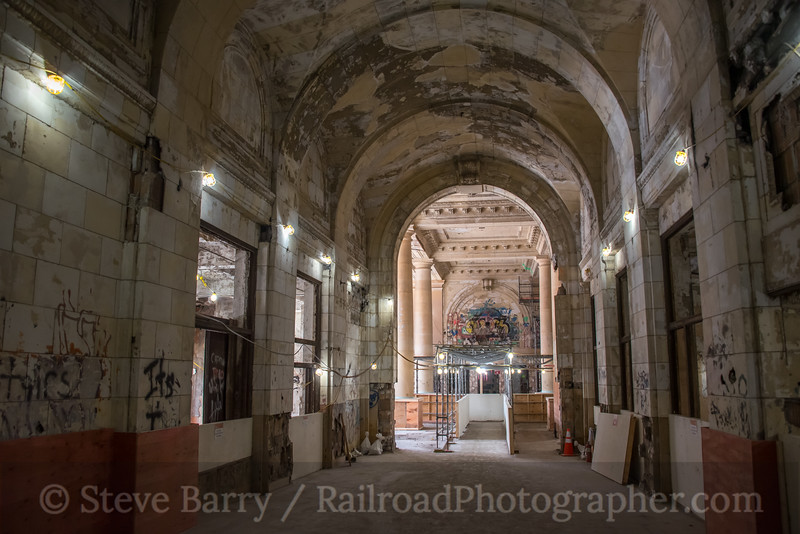 Michigan Central Station; Detroit MI; 6/19/19