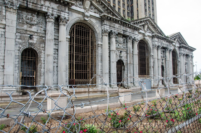 Photo 2737<br /> Michigan Central Station; Detroit, Michigan<br /> July 7, 2013