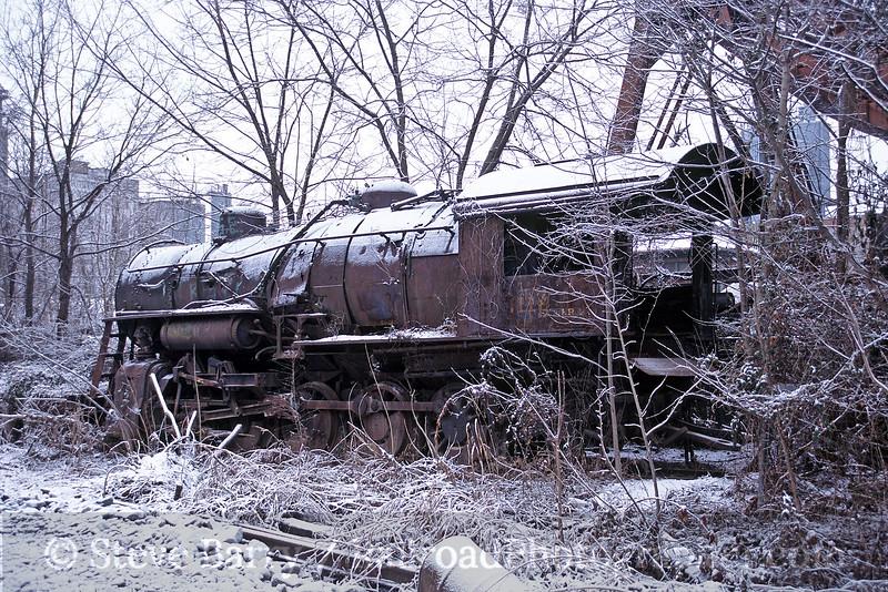 Photo 0411<br /> Lost Engine of Roanoke; Roanoke, Virginia<br /> January 21, 2005