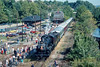 Photo 4468<br /> Rail Tours<br /> Bethlehem, Pennsylvania<br /> October 1983