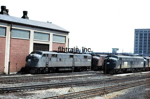 AM1971050571 - Amtrak, Chicago, IL, 5/1971