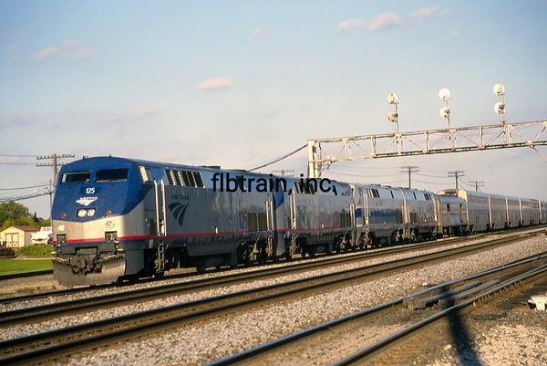 AM2001090037 - Amtrak, Aurora, IL, 9/2001