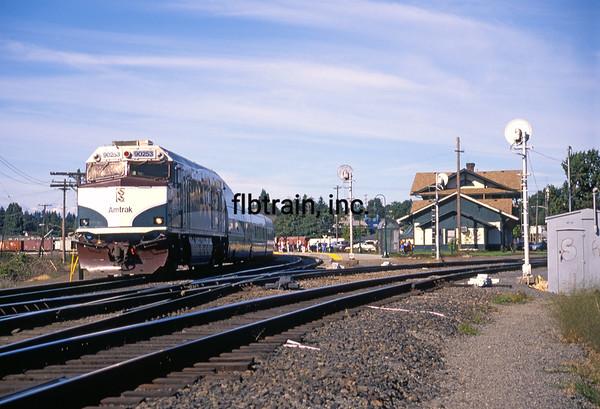AM1999082022 - Amtrak, Vancouver, WA, 8/1999