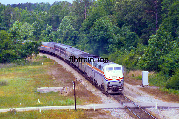 AM1999050001 - Amtrak, Vossburg, MS, 5/1999