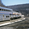 AM2000010058 - Amtrak, Sand Patch, PA, 1/2000