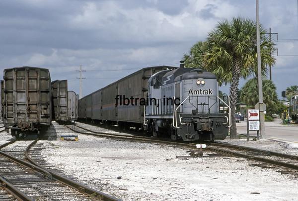 AM1992040033 - Amtrak, Sanford, FL, 4/1992