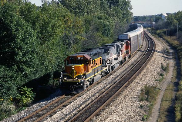 BNSF1999090087 - BNSF, Lockport, IL, 9-1999