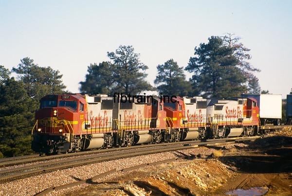 BNSF1996120508 - BNSF, Flagstaff, AZ, 12/1996