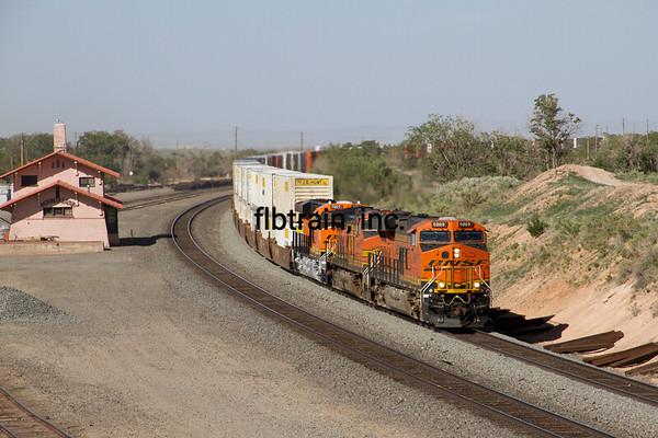 BNSF2012051751 - BNSF, Mountainair, NM, 5/2012