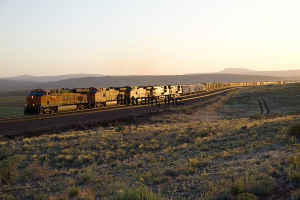 BNSF2012051373 - BNSF, Seligman, AZ, 5/2012