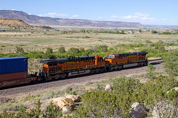 BNSF2012051657 - BNSF, McCarty's, NM, 5/2012