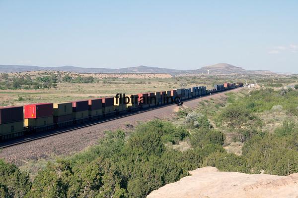 BNSF2012051664 - BNSF, McCarty's, NM, 5/2012