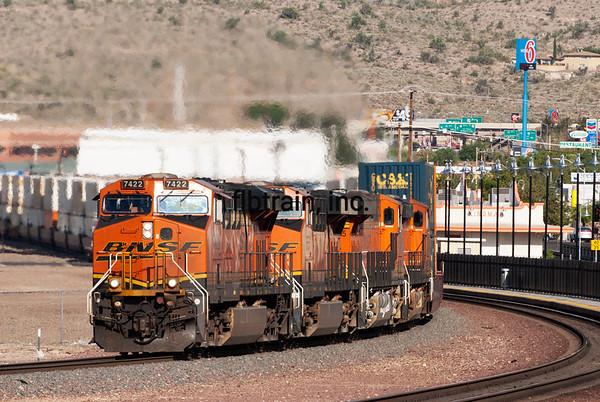 BNSF2012050684 - BNSF, Kingman, AZ, 5/2012
