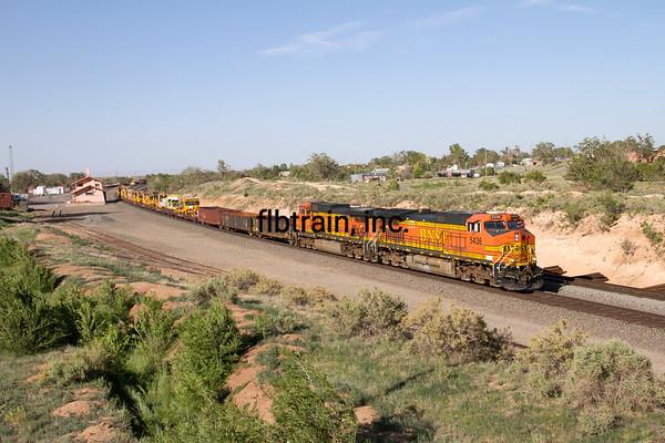 BNSF2012051781 - BNSF, Mountainair, NM, 5/2012