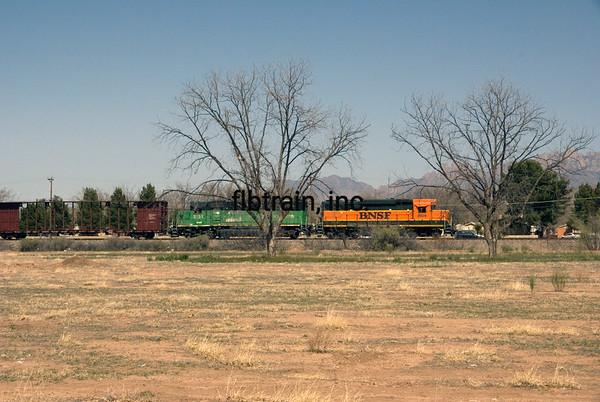BNSF2010030001 - BNSF, Mesilla, NM, 3/2010