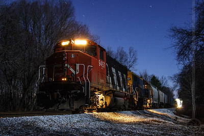 NECR Derailment December 2006 - Mansfield, Connecticut