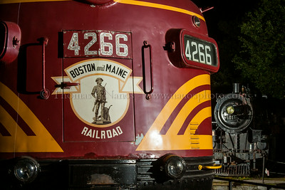 A detail look at Conway Scenic 4266 with 501 in the background