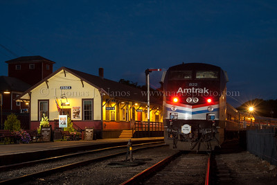 Amtrak at Essex 2014
