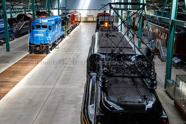 Inside the Railroad Museum of Pennsylvania