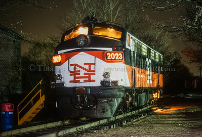 One of my first flash lit night shots - this was a test we did at the Connecticut Eastern Railroad Museum in Willimantic, and was lit by painting it with a Vivitar shoe mount flash (equiv. to a Canon 550EX). This shot would be the genesis to the annual Night Photo Shoot we